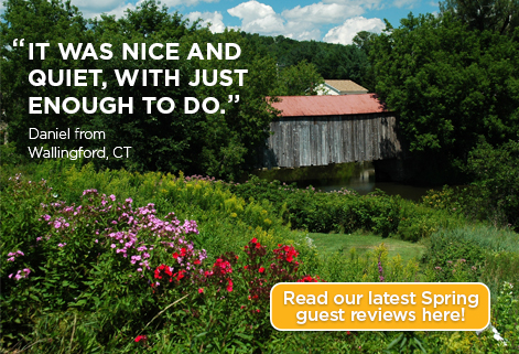 Read our latest spring guest reviews here!