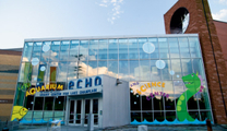 ECHO Aquarium and Science Center in Burlington Vermont