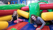 Indoor activities at FunZone 2.0 at Smugglers' Notch Resort Vermont