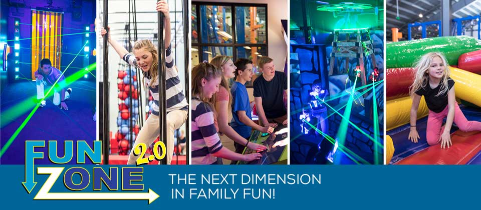 FunZone 2.0: The next dimension in family fun!