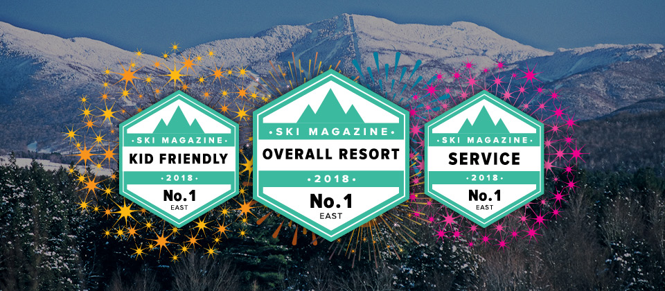 SKI Magazine's 2018 #1 Overall Resort in the East!