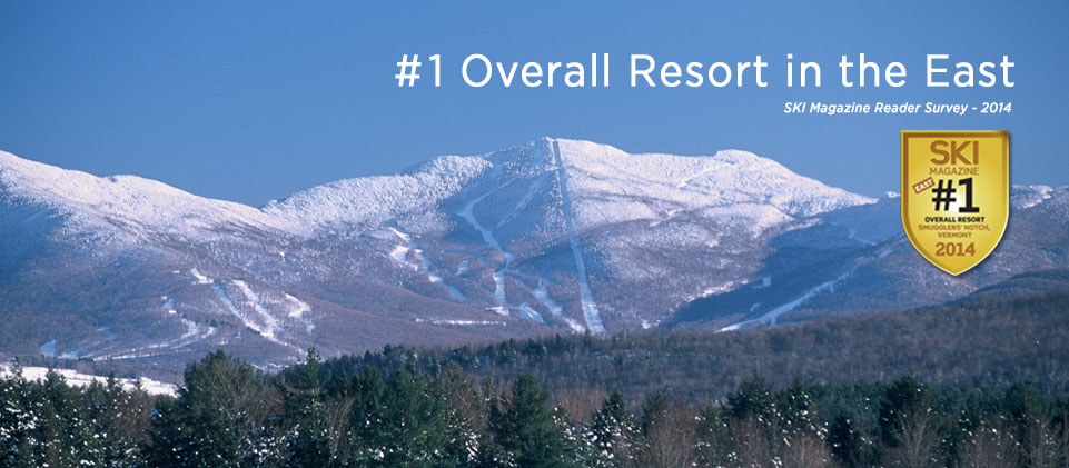 #1 Overall Resort in the East - Ski Magazine Reader Survey 2014