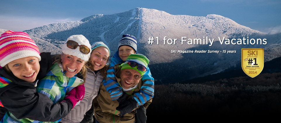 #1 For Family Vacations - Ski Magazine Reader Survey 15 years