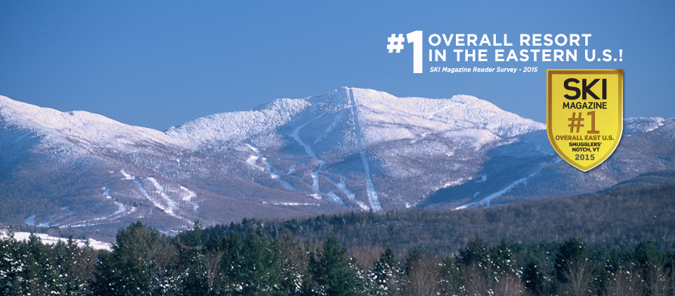 #1 Overall Resort in the Eastern U.S.! (SKI Magazine Reader Survey - 2015)