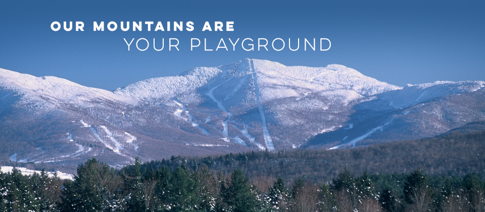 Our mountains are your playground