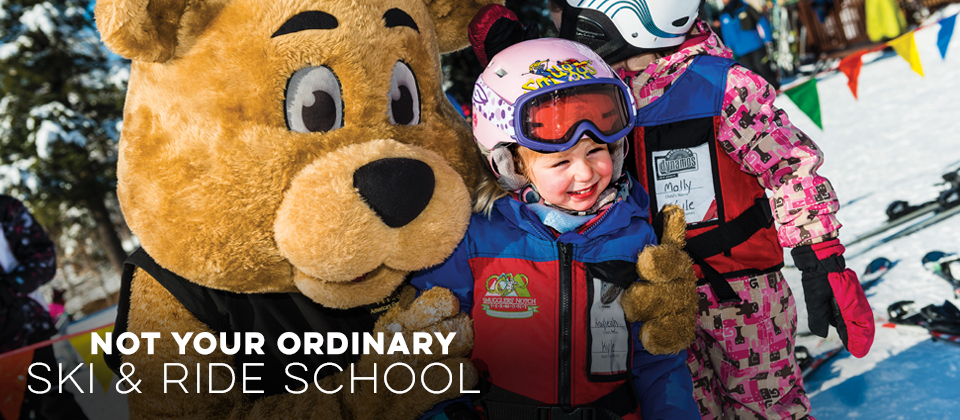 Not your ordinary ski & ride school