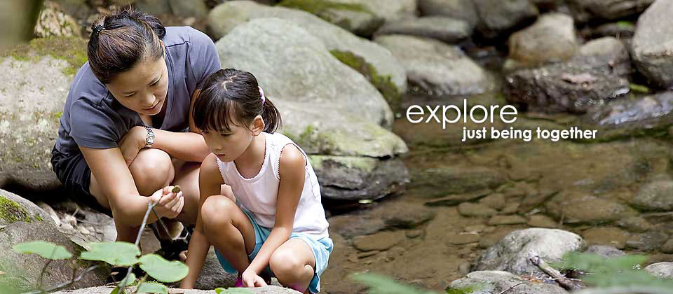 explore just being together
