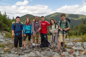 Children's hiking program Smugglers' Notch Vermont