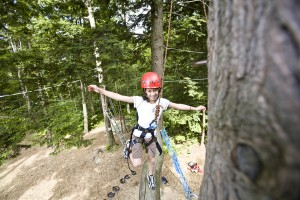 Ropes course Smugglers Notch