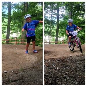 Pump track at Smugglers' Notch Vermont