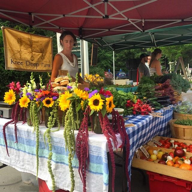 Farmers market at Smugglers' Notch Vermont