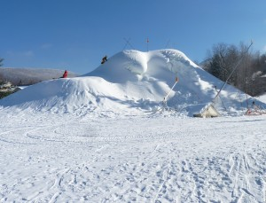 snowmaking mountain. blog