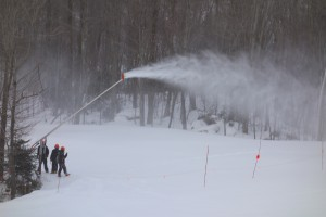 snowmaking lower birch