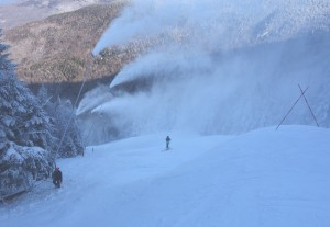 snowmaking on fis