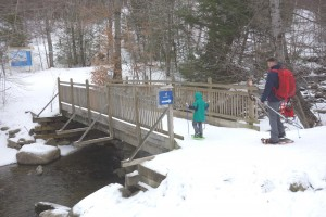 snowshoe bridge