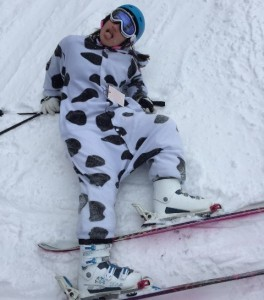 Jade as cow