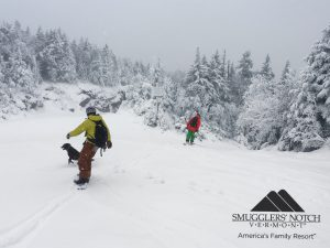 More fresh snow for October! Happy faces everywhere!