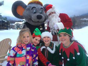 santa mogul mouse and elves