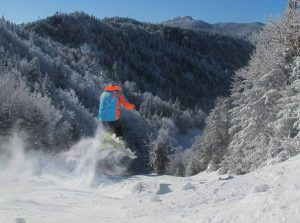 me ski away