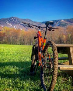 Mountain biking at Smuggs