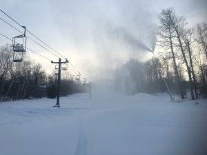 snowmaking lower morse liftline