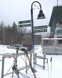 Base Lodge sign