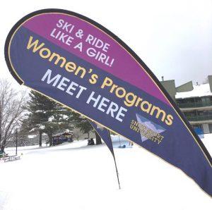 Womens program sign