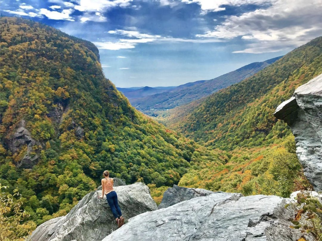 Smugglers' Notch is deep and rich with history