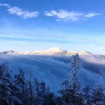 Mount Mansfield and Clouds January 20, 2017