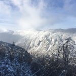 Smugglers' Notch from Upper Rumrummer December 11, 2016