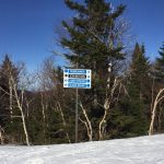 Trail Sign on Sterling at the Top of Black Snake