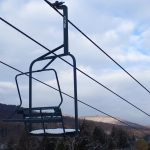 Chair 136 with Fresh Snow