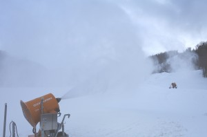 Zone snowmaking