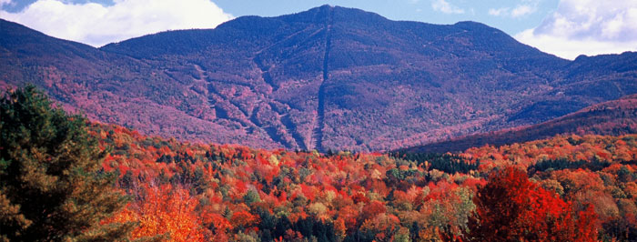 Fall View of Mount Mansfield