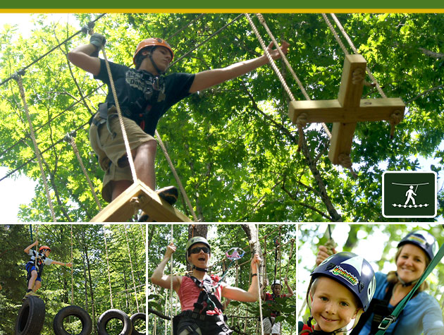 Treetop Obstacle Course