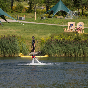 FlyBoard of Vermont at Bootleggers' Basin