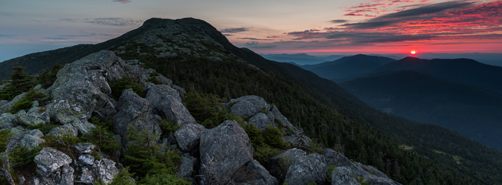 Smugglers Notch Vermont Green Mountains