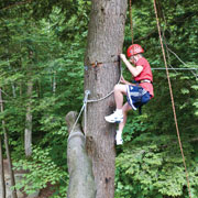 Adventure Days Ropes Challenge Course at Smugglers' Notch Resort