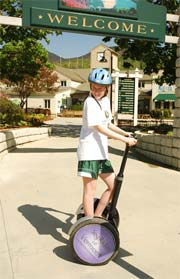 Segway tours and rentals at Smugglers' Notch Resort