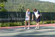 Private and semi-private tennis instruction at Smugglers' Notch Resort