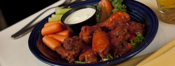Buffalo Chicken Wings at the Morse Mountain Grille