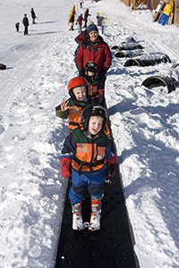 Little Rascals on Snow Smugglers' Notch Resort