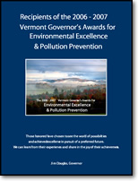 The Governor's Award for Environmental Excellence and Pollution Prevention