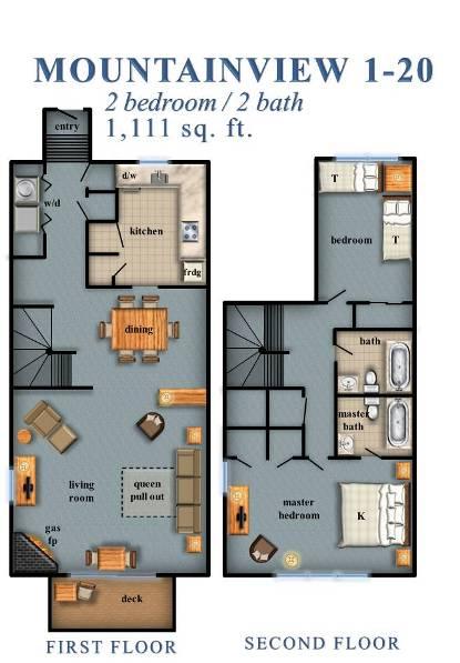 Mountainview 2 Bedroom 1 20