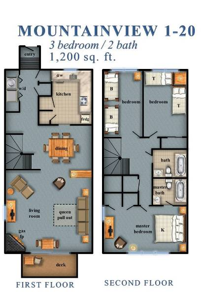 Mountainview 3 Bedroom 1 20