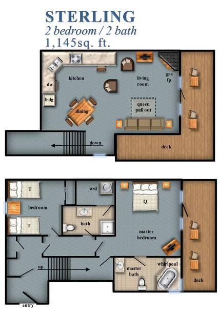 Sterling 2 bedroom for Sterling plan