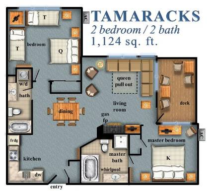 Tamaracks 2 Bedroom