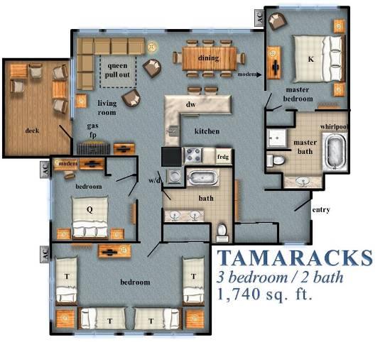 Tamaracks Bedroom