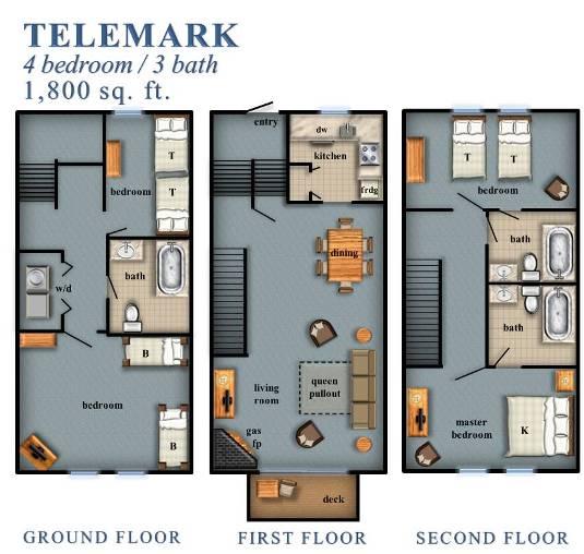 Telemark 4 Bedroom