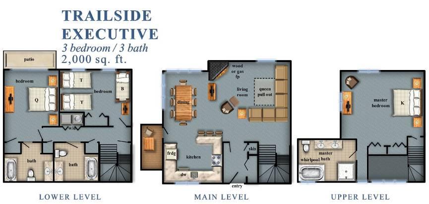 Trailside Executives 3 Bedroom
